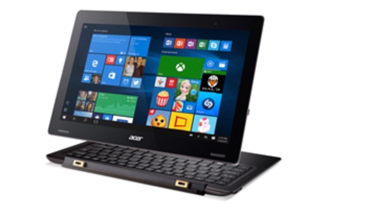 #CES2016 Acer Introduces Insane 2-in-1 with Thunderbolt 3.